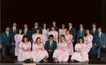 Accapella Choir 1989.  I (Steve)can't sing a lick now, but then again I don't think I could sing a lick back then.  Gr