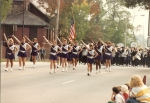 Athenas in the Homecoming Parade 1988