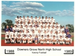 1989 Football Team Picture