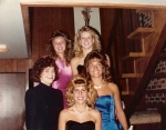 Homecoming 1988: Kara Kennedy, Patty Lyman, Melissa Olson, Karyn Furtstenau, Amy Murphy