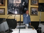 Clint Hochstedt plays the role of DJ...